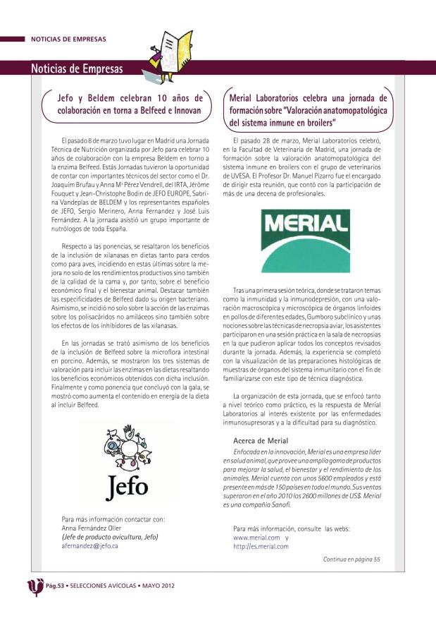 Jefo y Beldem celebran 10 años de colaboración en torno a Belfedd e Innovan