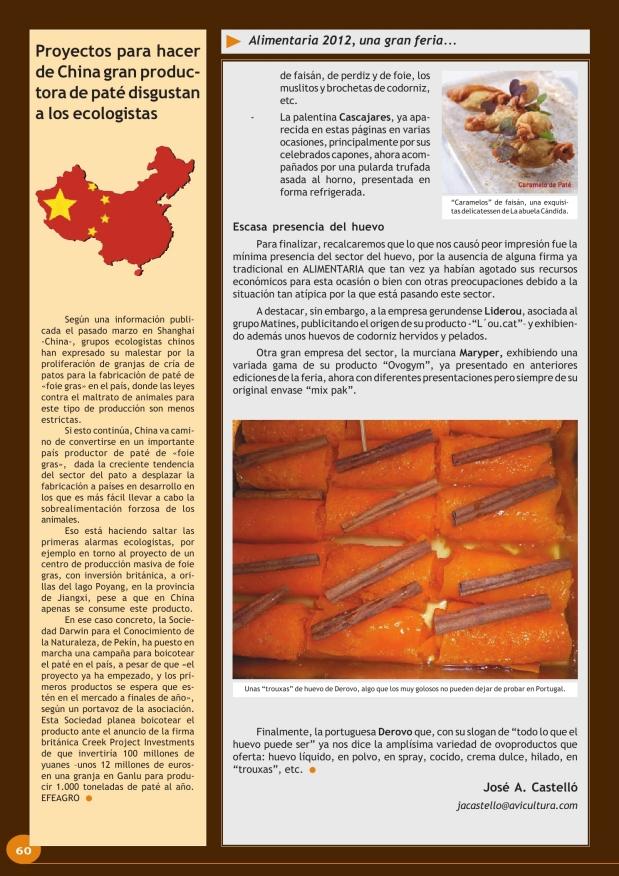 Proyectos para hacer de China gran productora de paté disgustan a los ecologistas