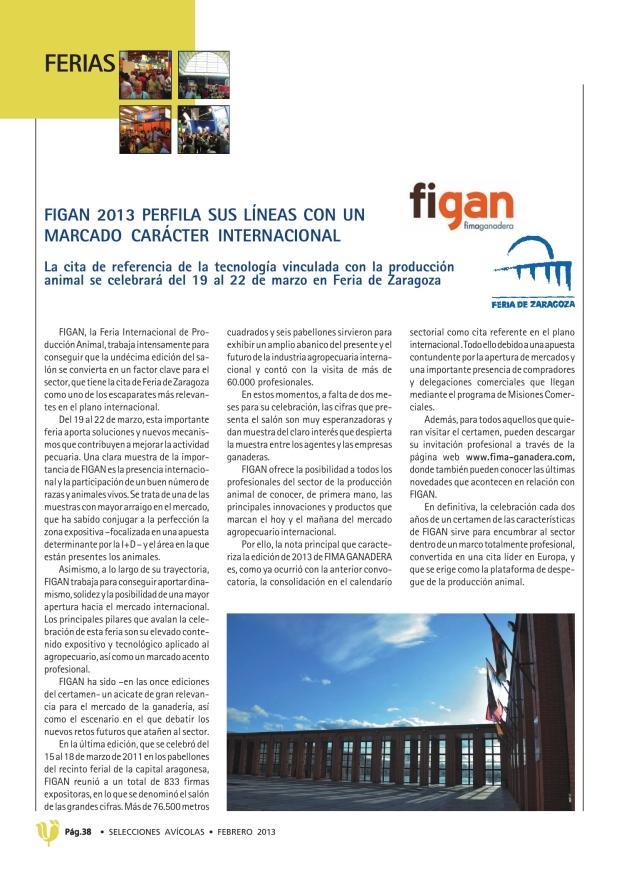 FIGAN 2013 perfila sus líneas con un marcado carácter internacional