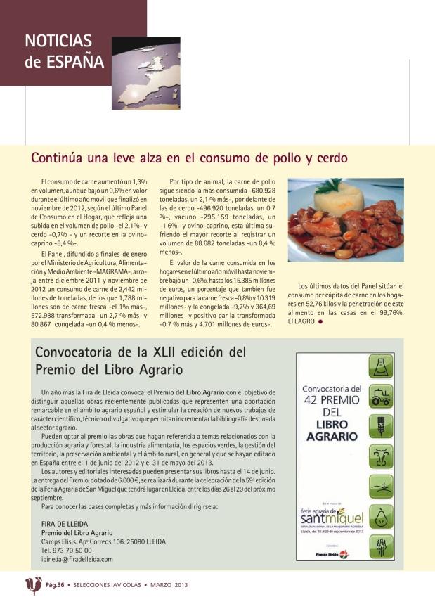 Convocatoria de la XLII edición del Premio del Libro Agrario