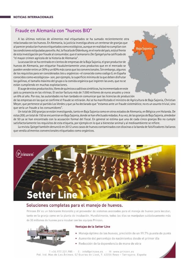 """Fraude en Alemania con """"huevos BIO"""""""