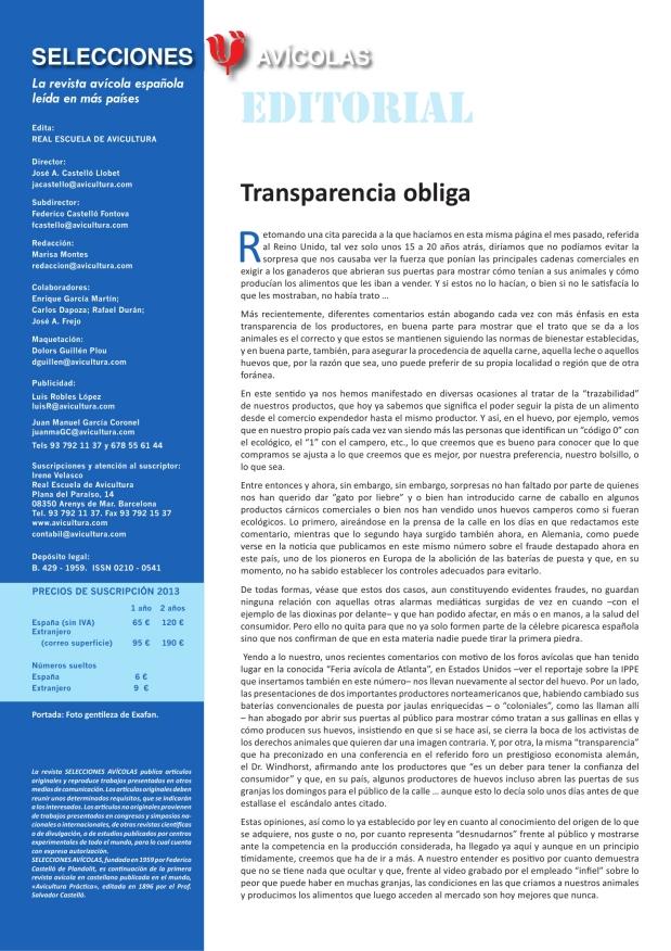 Transparencia obliga