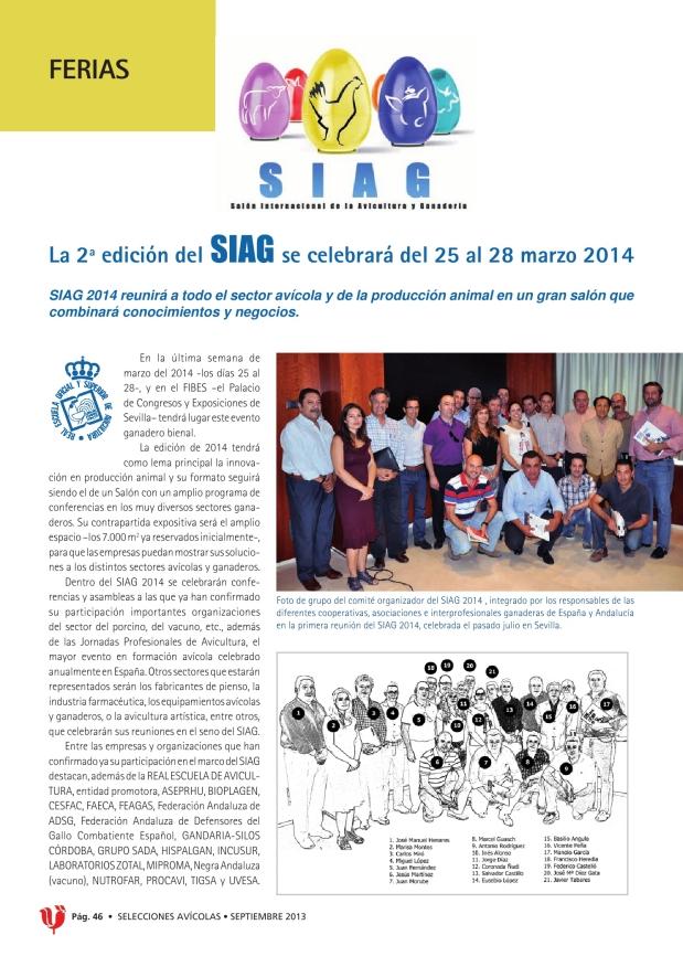 La segunda edición del SIAG se celebrará del 25 al 28 de marzo 2014