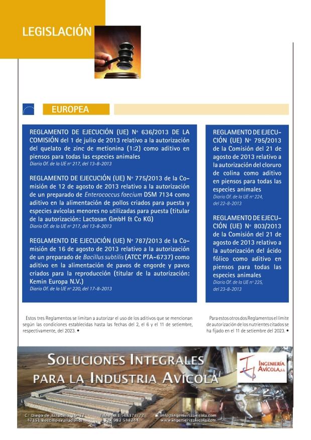 REGLAMENTO DE EJECUCIÓN (UE) Nº 636/2013 DE LA COMISIÓN del 1 de julio de 2013 relativo a la autorización del quelato de zinc de metionina (1:2) como aditivo en piensos para todas las especies animales