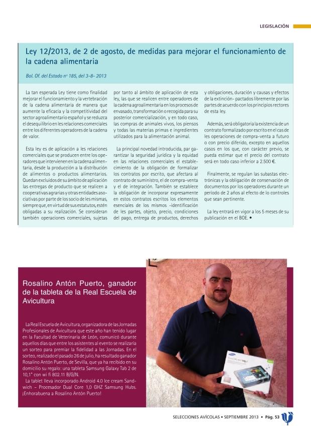 REGLAMENTO DE EJECUCIÓN (UE) Nº 795/2013 de la Comisión del 21 de agosto de 2013 relativo a la autorización del cloruro de colina como aditivo en piensos para todas las especies animales