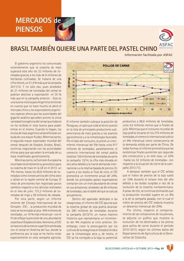 Brasil también quiere una parte del pastel chino