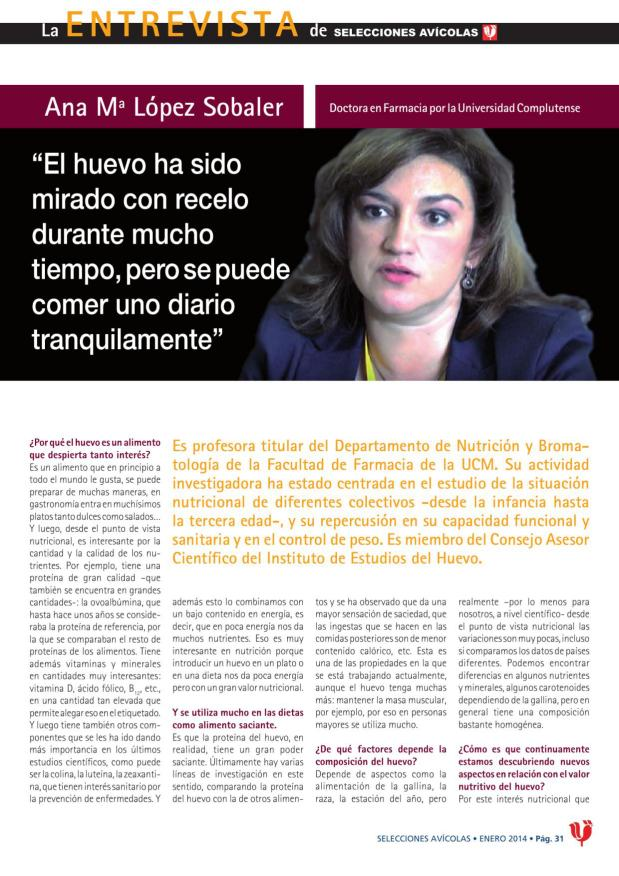 Ana Mª López Sobaler