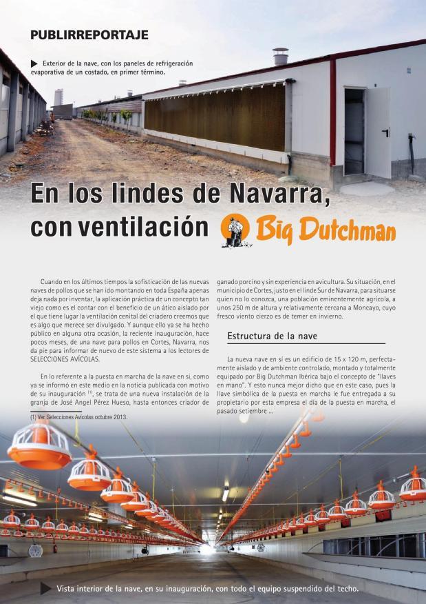 En los lindes de Navarra, con ventilación Big Dutchman