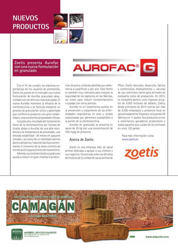 Zoetis presenta Aurofac con una nueva formulación en granulado
