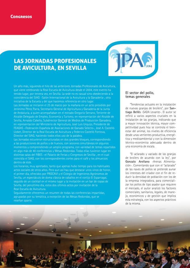 Las Jornadas Profesionales de Avicultura, en Sevilla