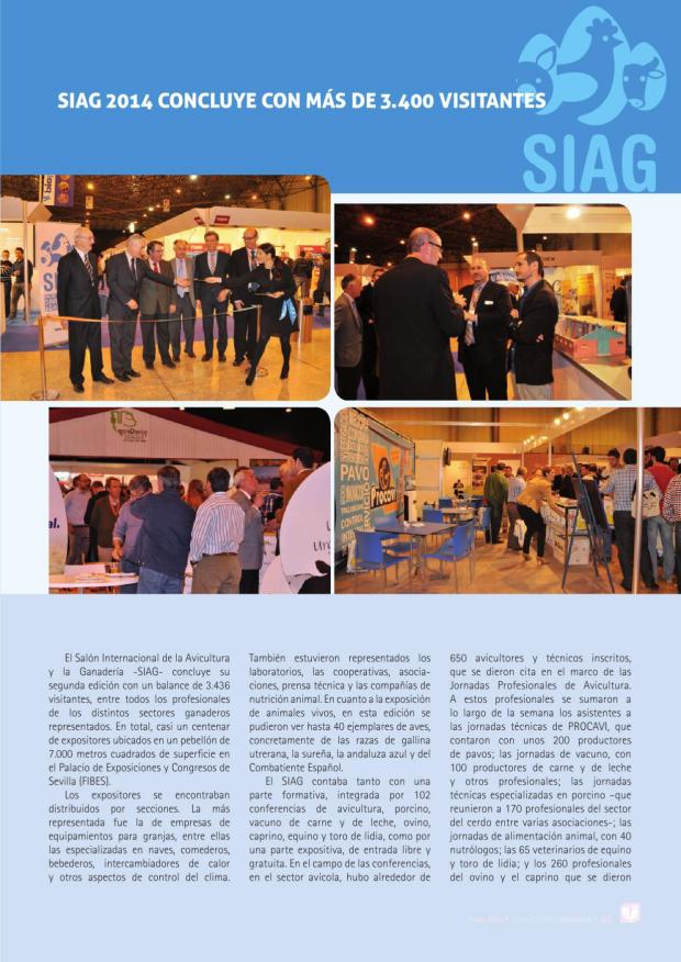 SIAG 2014 concluye con más de 3.400 visitantes