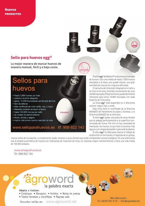 Sello para huevos eggid