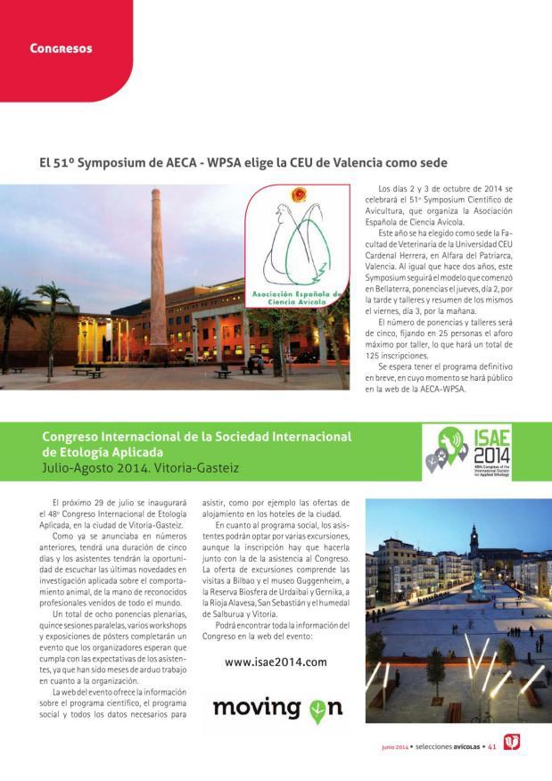 El 51º Symposium de AECA - WPSA elige la CEU de Valencia como sede