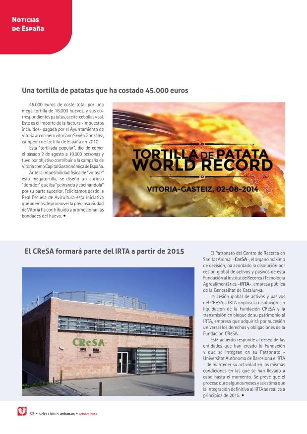 Una tortilla de patatas que ha costado 45.000 euros
