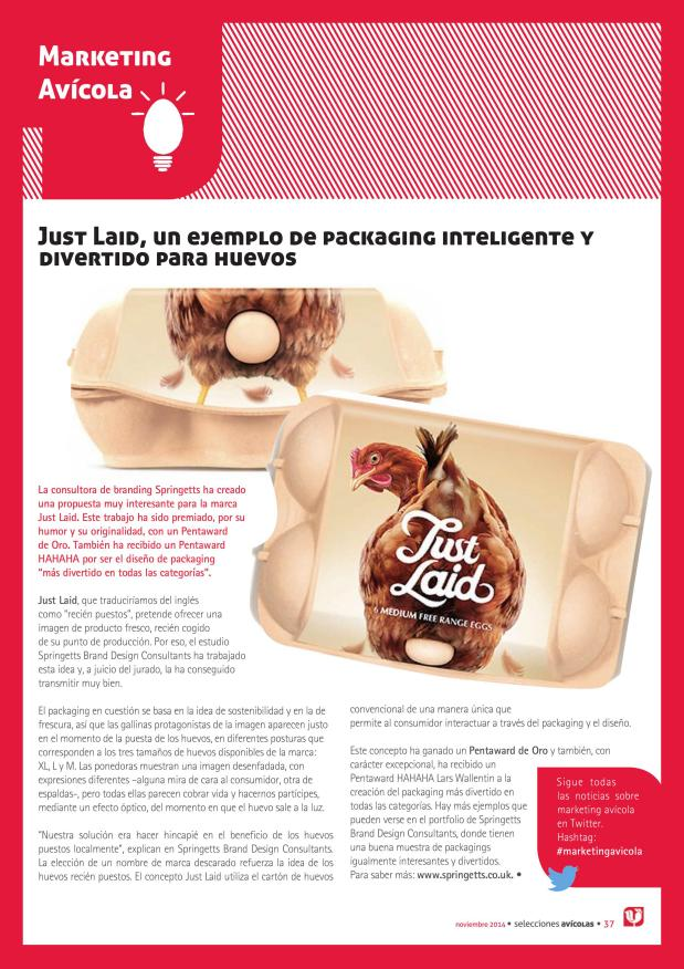 Just Laid, un ejemplo de packaging inteligente y divertido para huevos