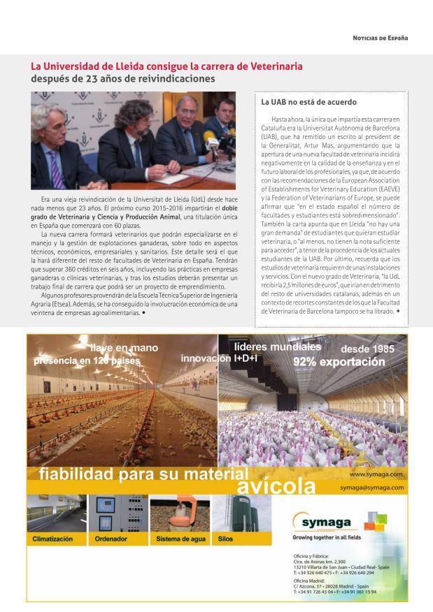 La Universidad de Lleida consigue la carrera de Veterinaria después de 23 años de reivindicaciones