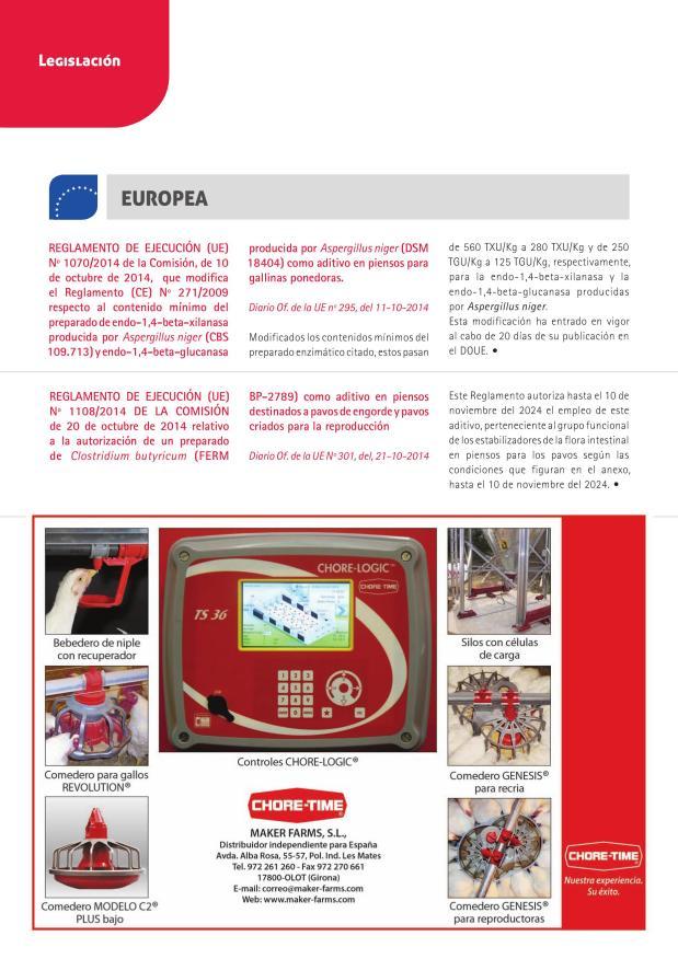 Reglamento de Ejecución (UE) Nº 1070/2014 de la Comisión, de 10 de octubre de 2014