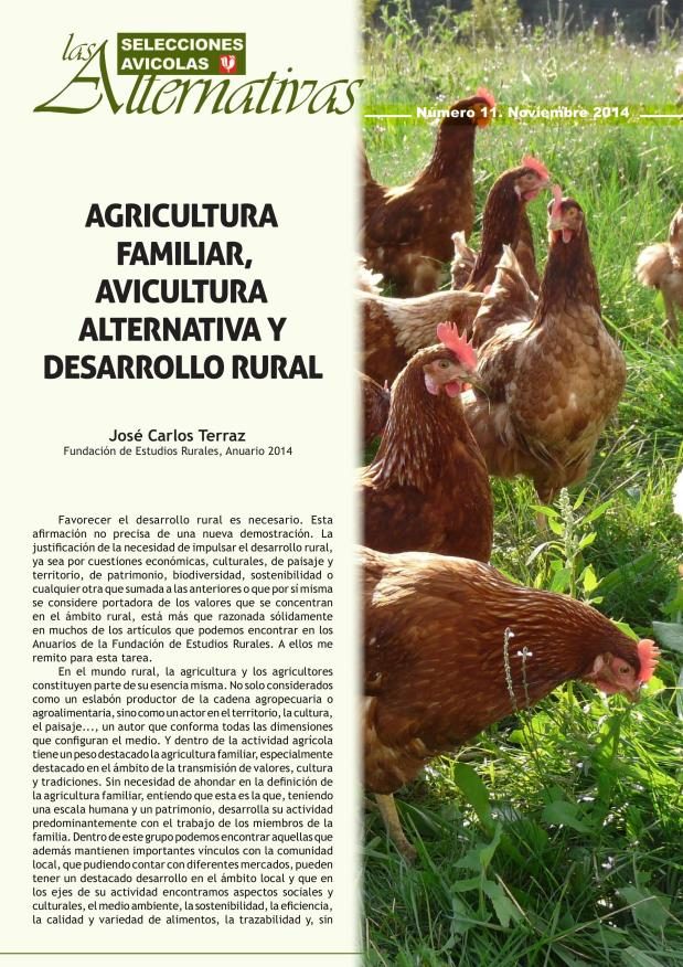 Agricultura familiar, avicultura alternativa y desarrollo rural