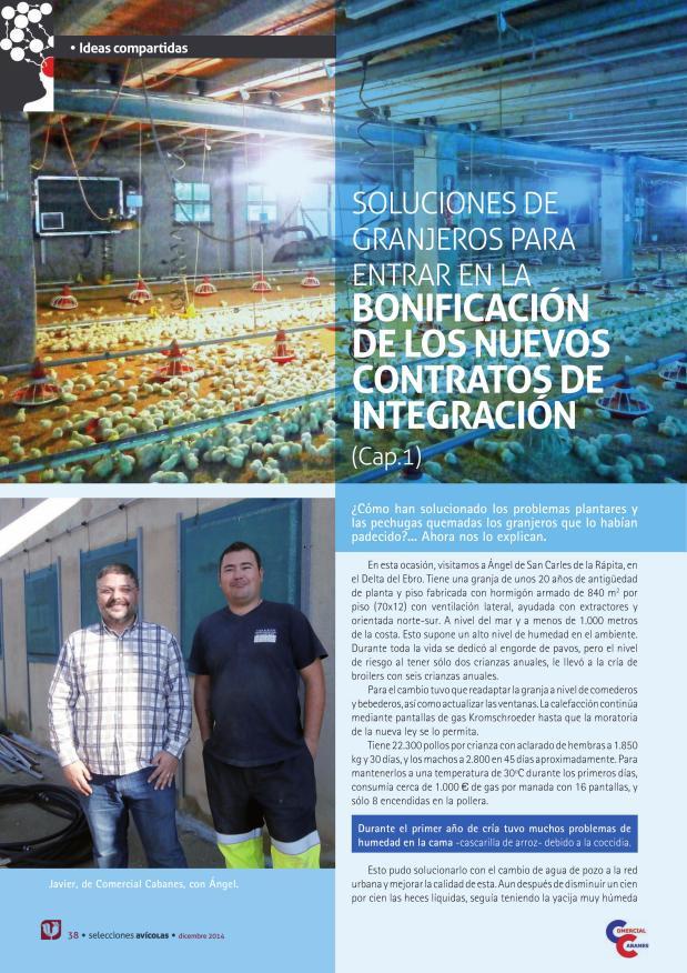 Soluciones de granjeros para entrar en la bonificación de los nuevos contratos de integración