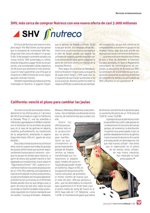 SHV, más cerca de comprar Nutreco con una nueva oferta de casi 3.000 millones