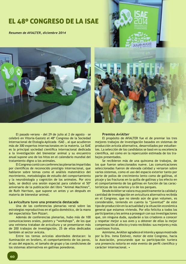El 48º Congreso de la ISAE