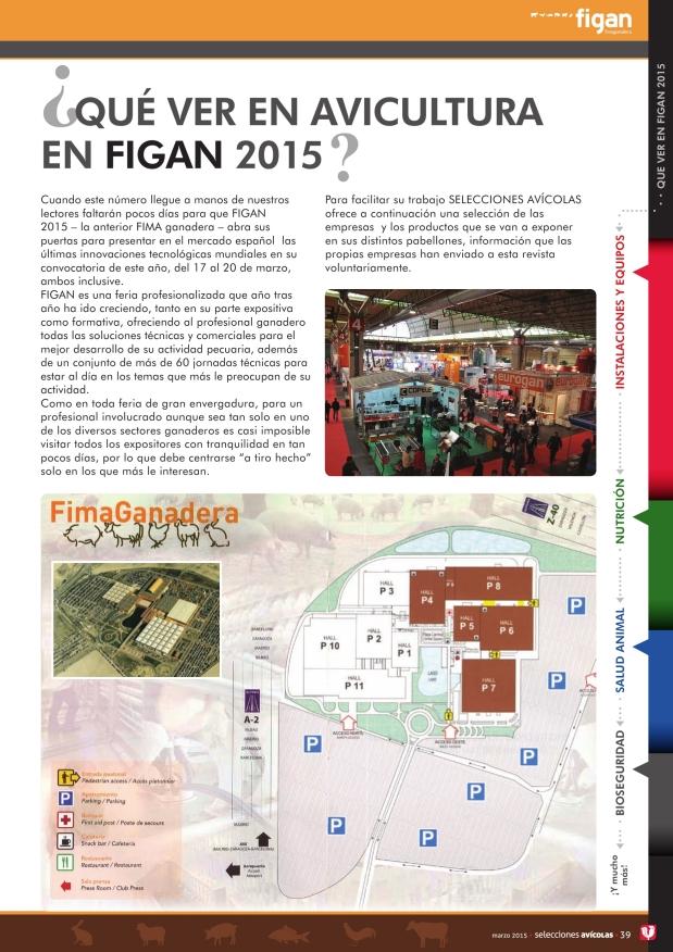 ¿Qué ver en avicultura en FIGAN 2015?