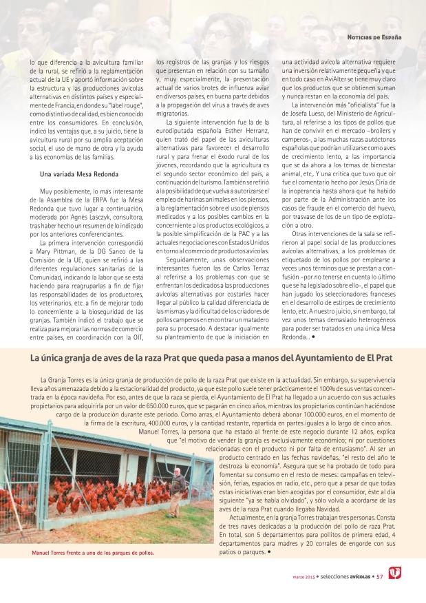 La única granja de aves de la raza Prat que queda pasa a manos del Ayuntamiento de El Prat