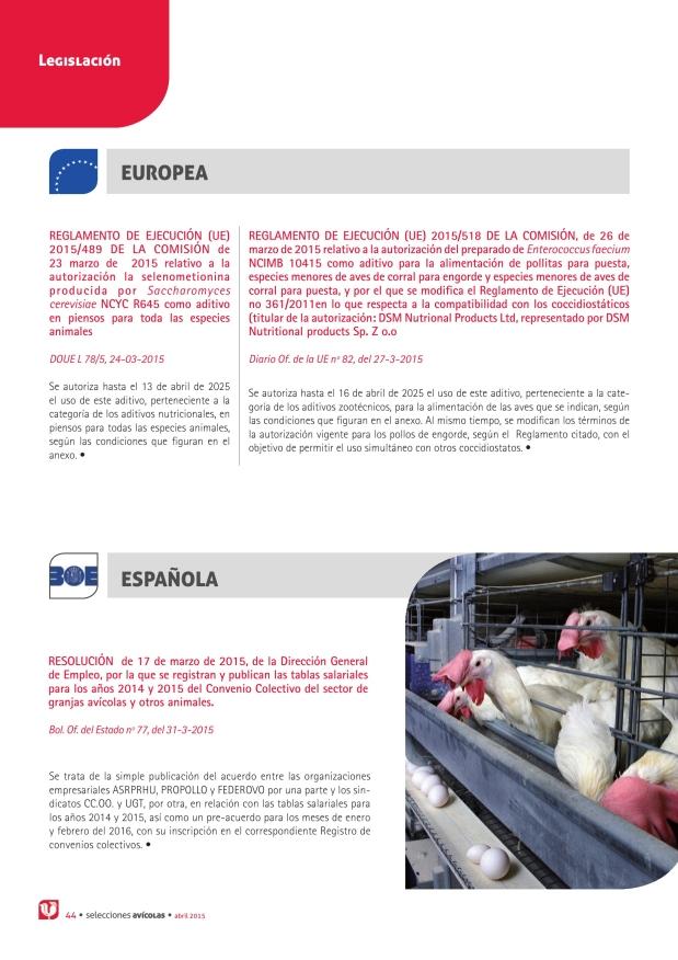 Reglamento de Ejecución (UE) 2015/489 de la Comisión de 23 marzo de 2015