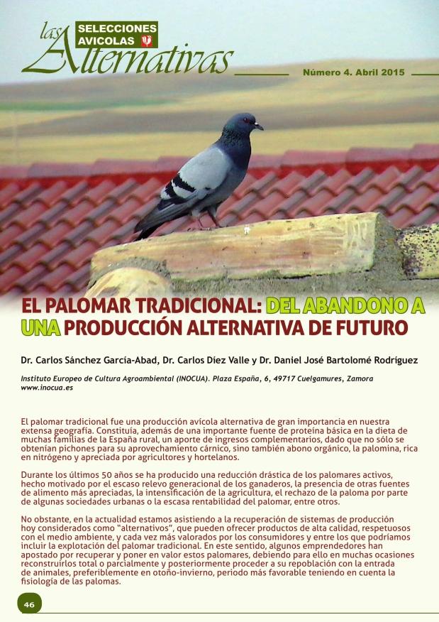 El palomar tradicional: del abandono a una producción alternativa de futurod