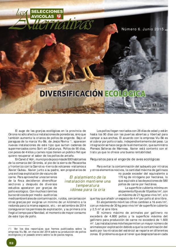 Diversificación ecológica