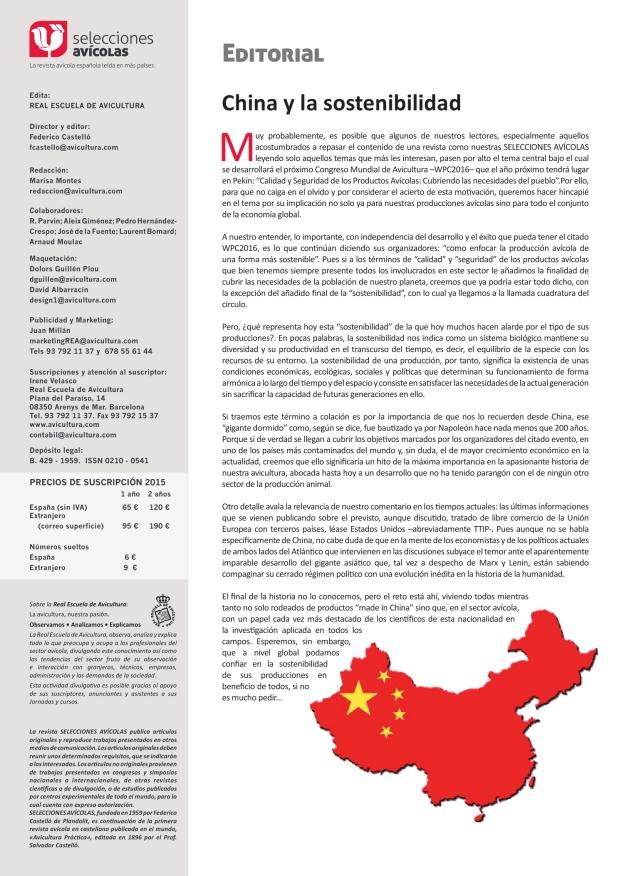 China y la sostenibilidad