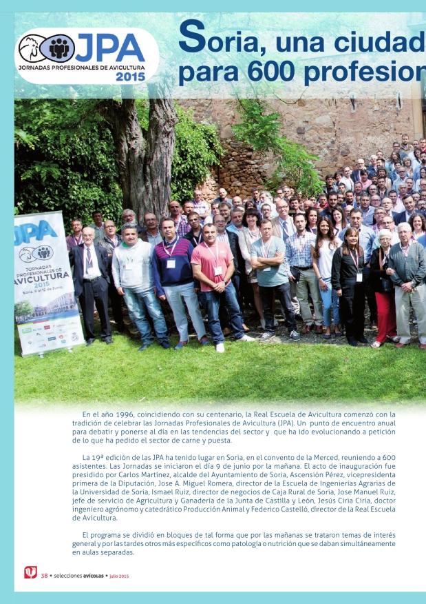 Soria, una ciudad de encuentro para 600 profesionales de la avicultura