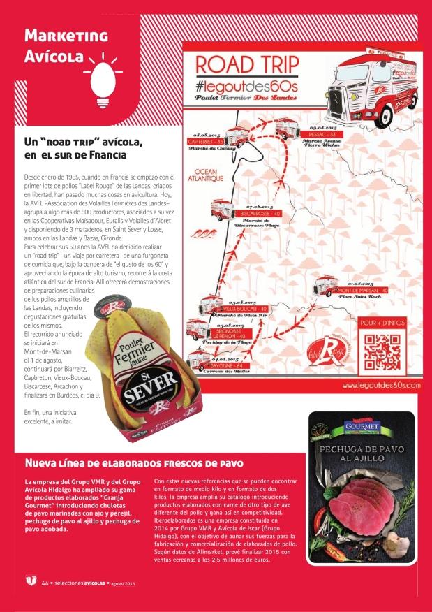 """Un """"road trip"""" avícola, en el sur de Francia"""