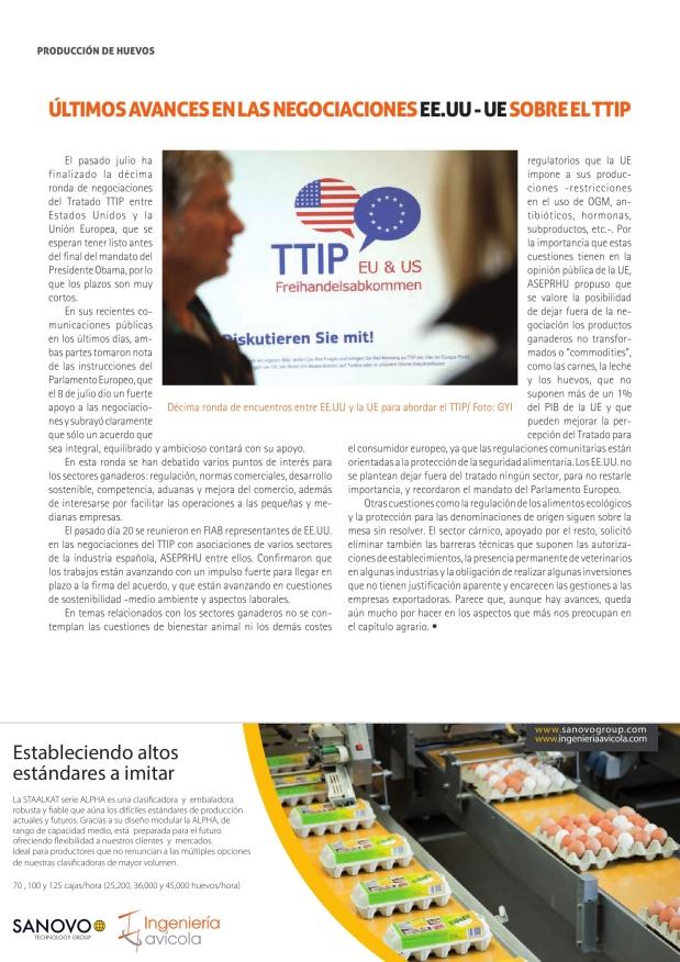 Últimos avances en las negociaciones EE.UU.-UE sobre el TTIP