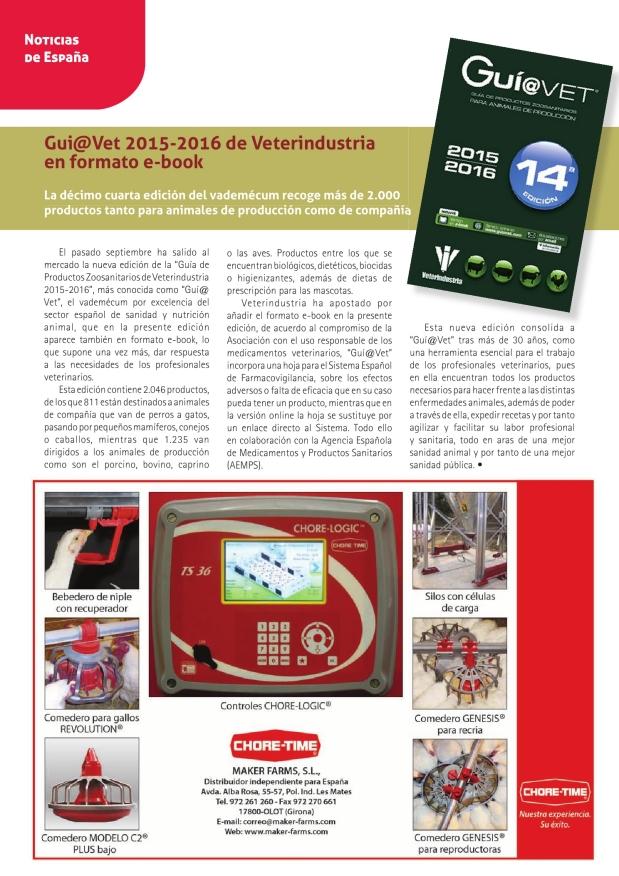 Gui@Vet 2015-2016 de Veterindustria en formato e-book