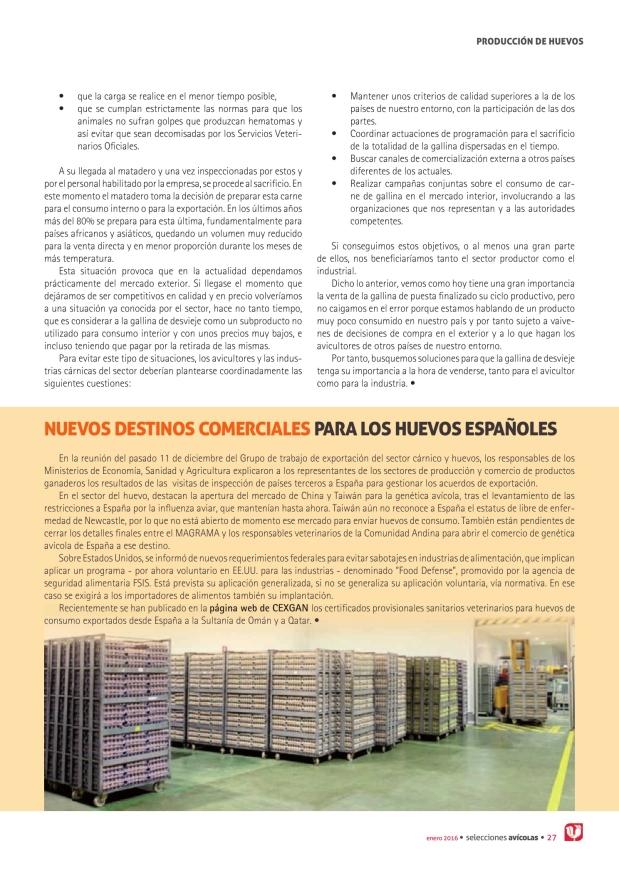 Nuevos destinos comerciales para los huevos españoles