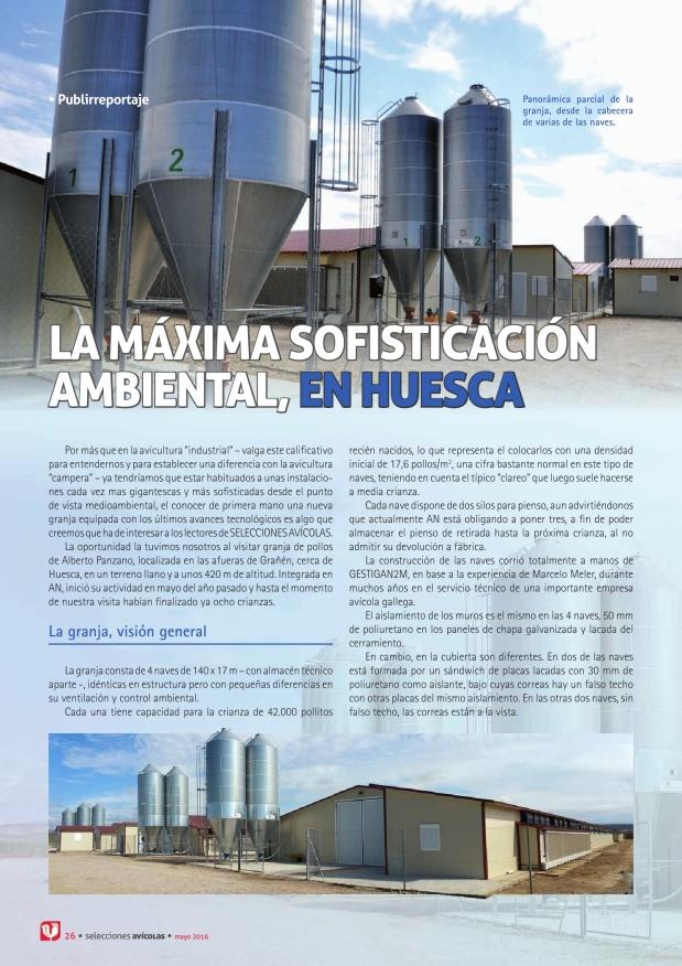 La máxima sofisticación ambiental, en Huesca