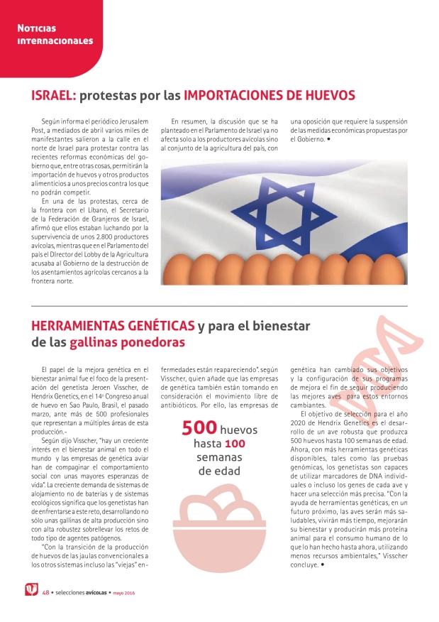 Israel: protestas por las importaciones de huevos