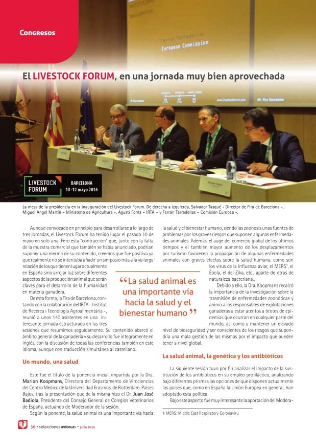 El Livestock Forum, en una jornada muy bien aprovechada