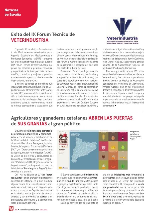 Éxito del IX Fórum Técnico de Veterindustria