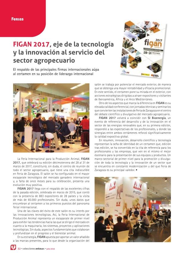 FIGAN 2017, eje de la tecnología y la innovación al servicio del sector agropecuario