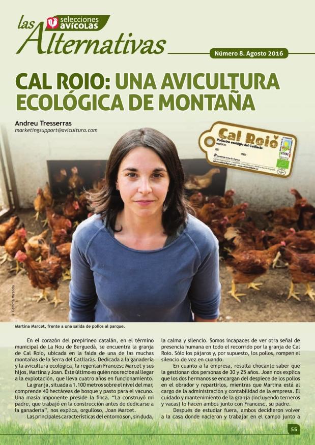 Cal Roio: una avicultura ecológica de montaña
