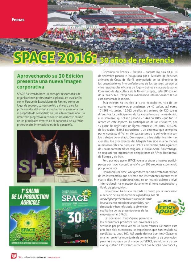 SPACE 2016: 30 años de referencia