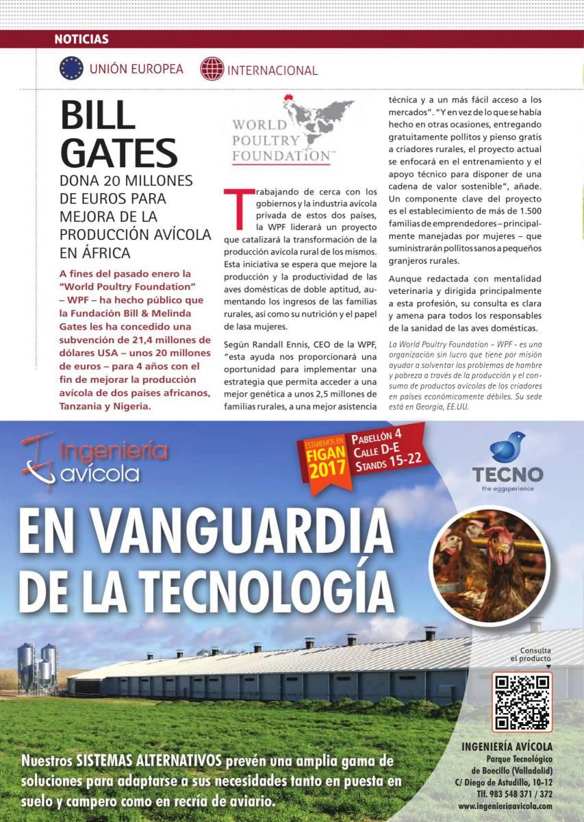 BILL GATES dona 20M EUROS a WPF