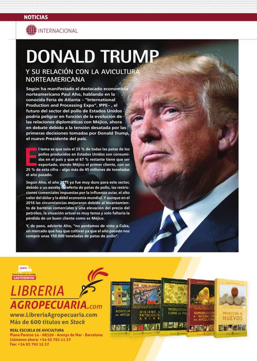 Donald Trump y su relación con la avicultura norteamericana