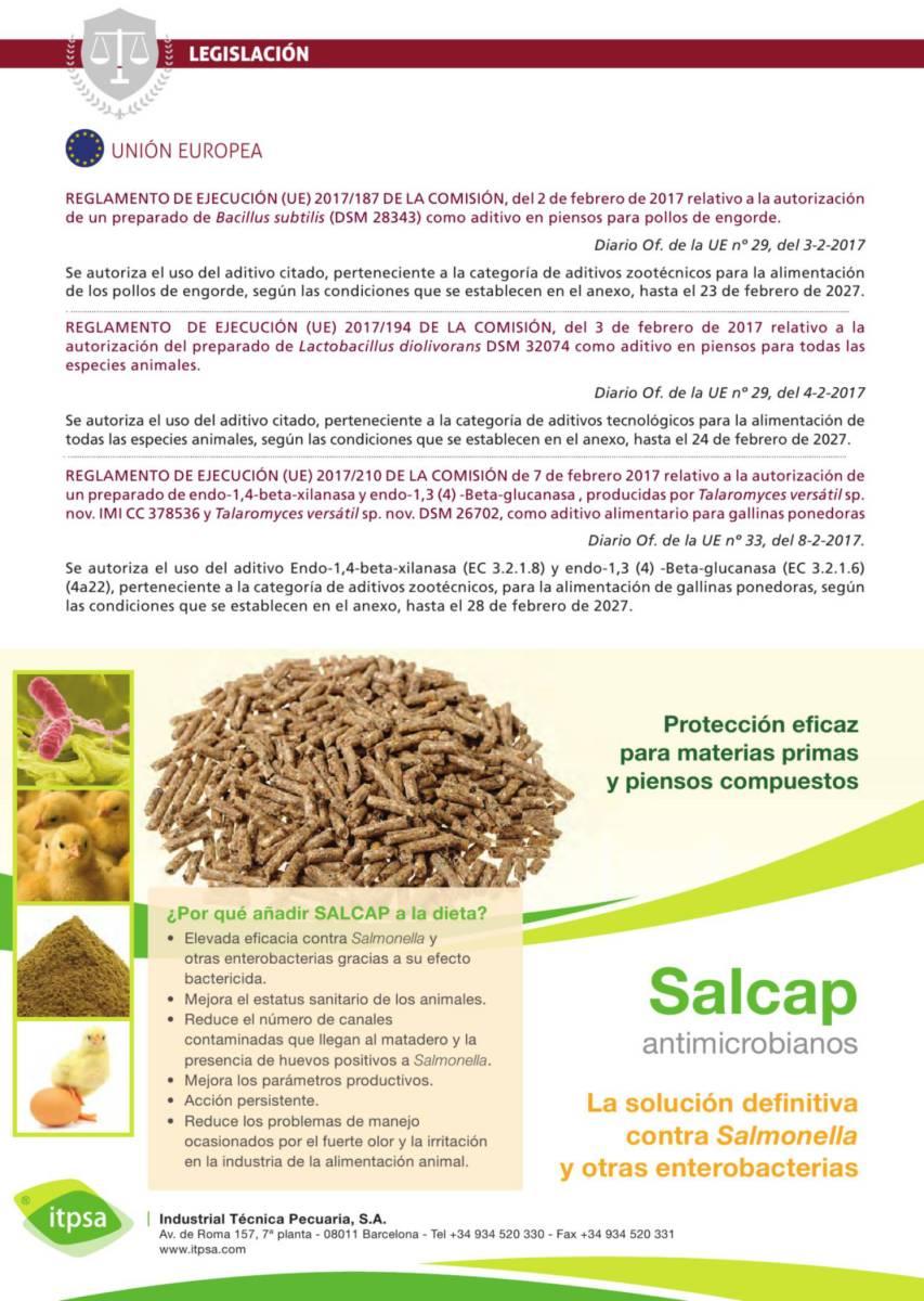 Reglamento  relativo a la autorización de un preparado de Bacillus subtilis