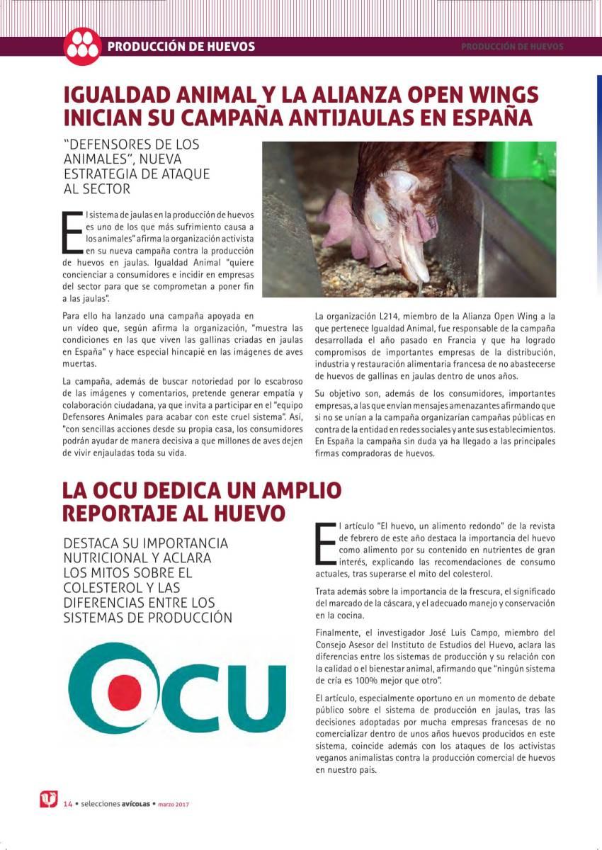 Igualdad Animal y la Alianza Open Wings inician su campaña antijaulas en España