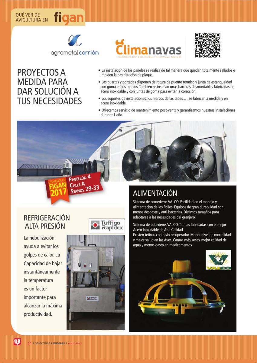 ESPECIAL FIGAN: AGROMETAL CARRIÓN, CLIMANAVAS