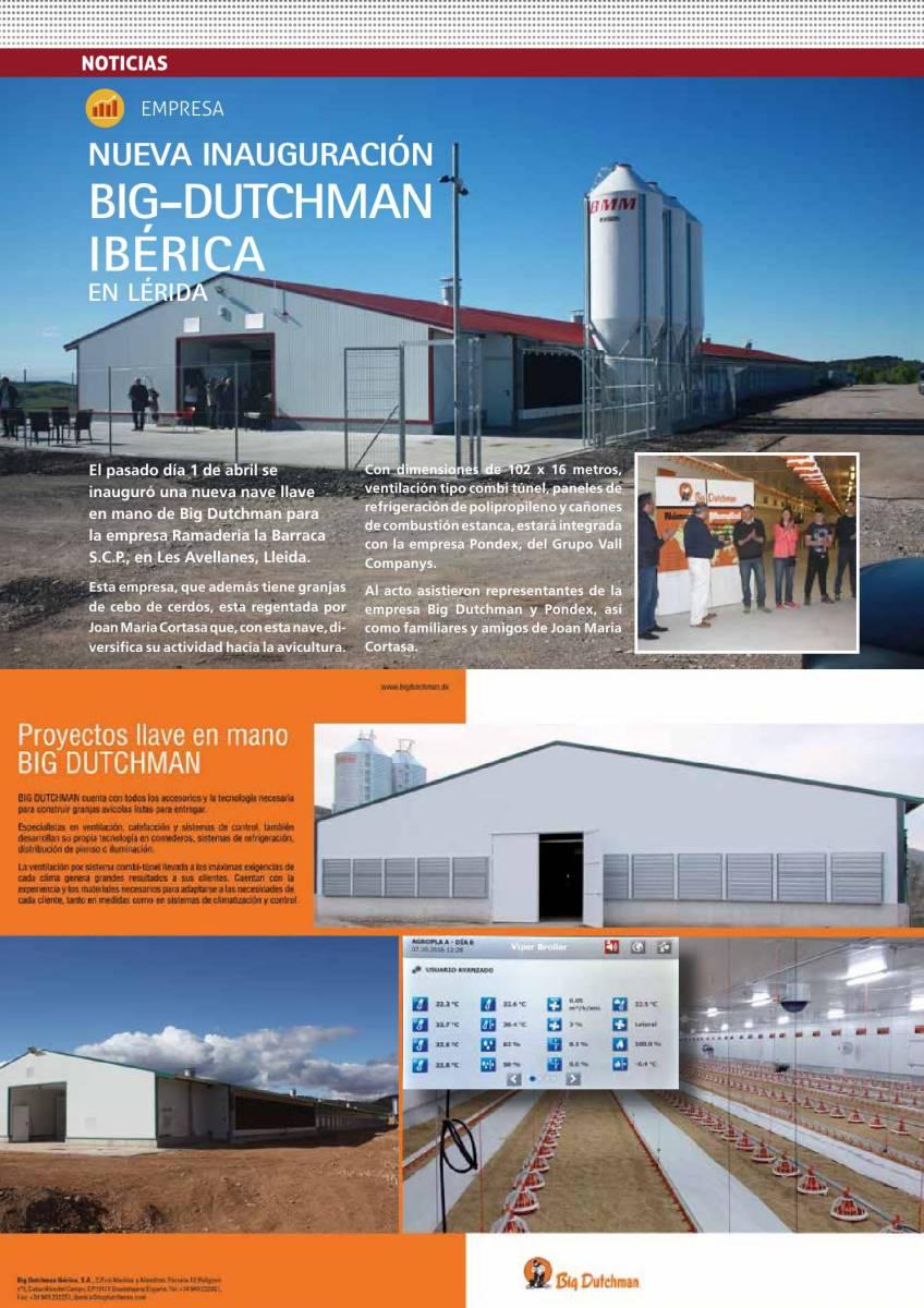 Nueva inauguración Big-Dutchman Ibérica en Lérida