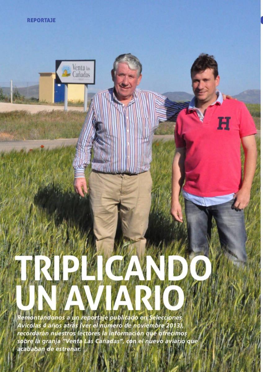 Triplicando un aviario: Granja Venta Las Cañanadas